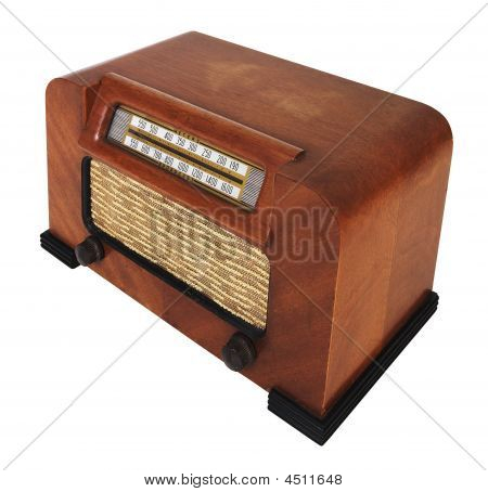 Vintage Antique Tube Radio