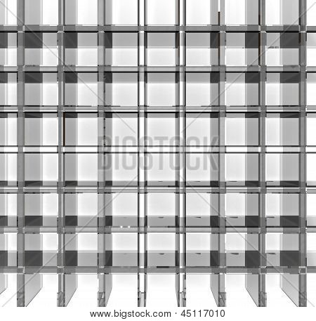 Empty Glass Grid