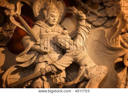 Temple Stong Carving - Couple