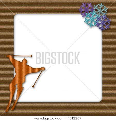 Cardboard Ski Frame