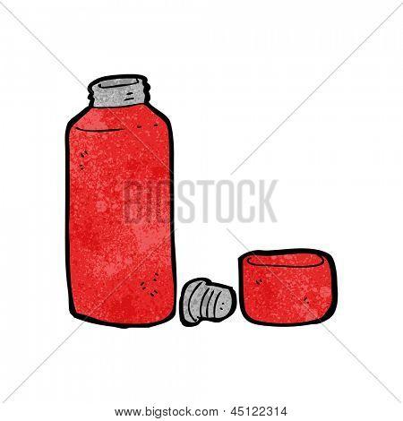 cartoon vaccum flask