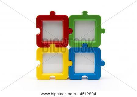Puzzle Pieces Square