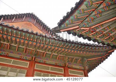 Gyeongbokgung roof