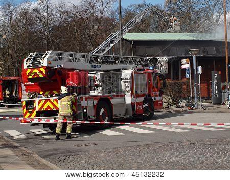 Firemen In Action