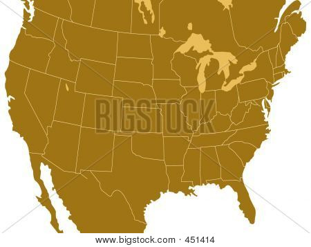 America States Map