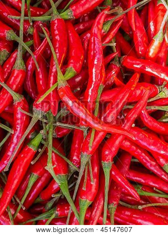 Red Chilli Background