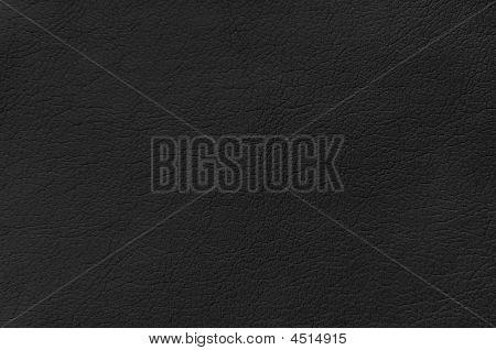 schwarzen Lederhintergrund