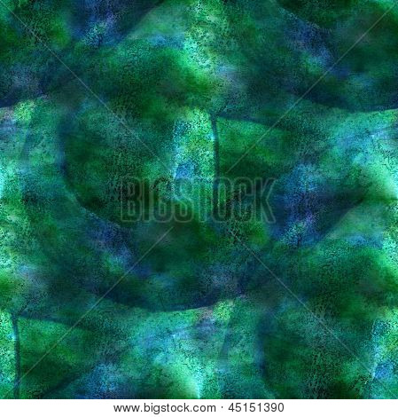 art seamless blue, green ornament texture, background w