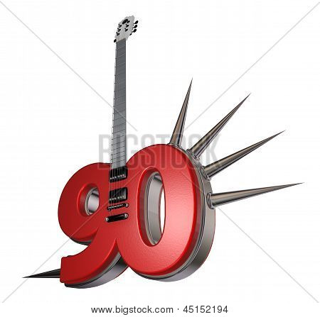 Number Ninety Guitar