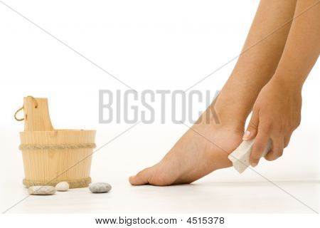 Foot Cleaning