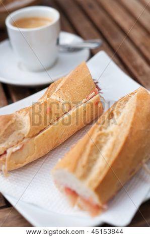 Bocadillo breakfast