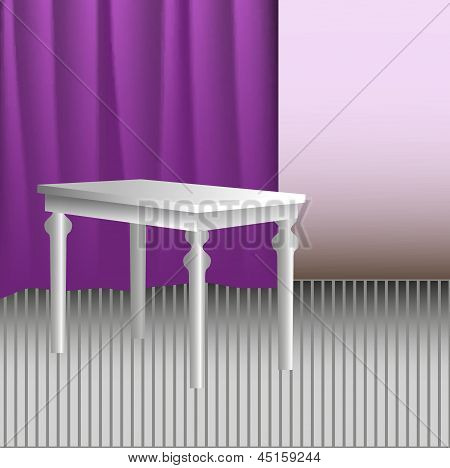 White table