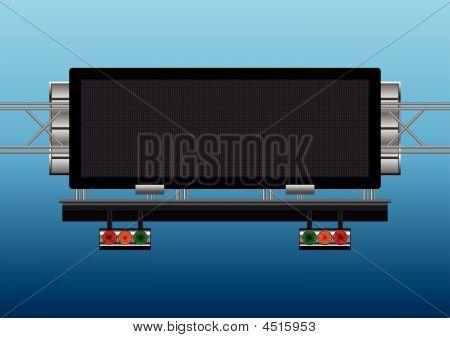 Highway Informative Placard
