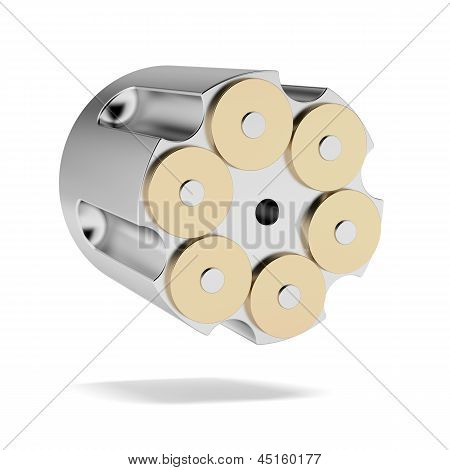 Full Revolver Cylinder