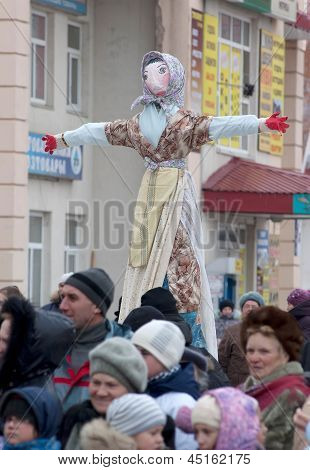 Maslenitsa Doll To Burn Out