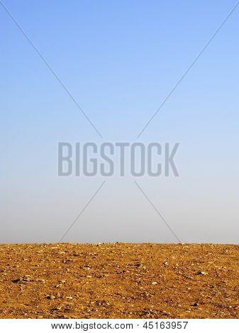 Barren horizon