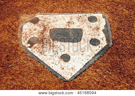 Alone at Home Plate