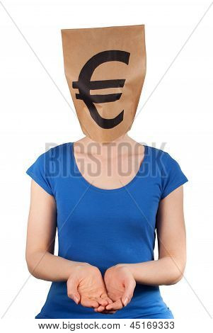 Person With Moneyhead