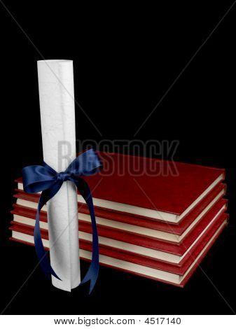Diploma And Books