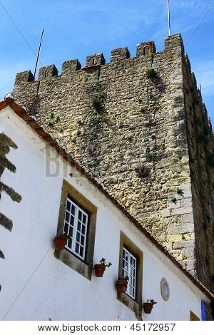Castle of Obidos, Obidos, Portugal