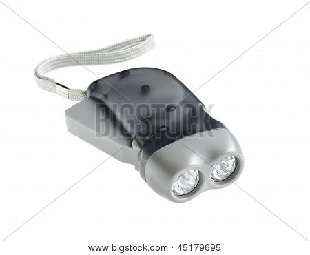 Eco Torch (hand Crank Press Powered Dynamo Led Flashlight)