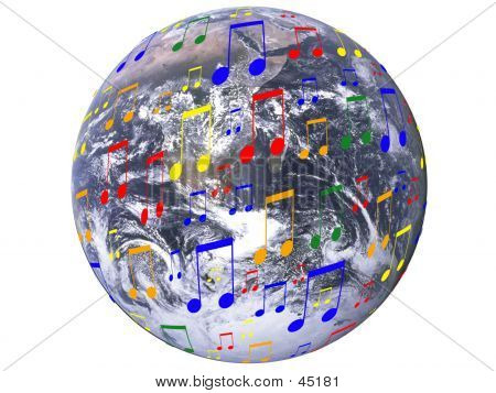 Music All Over The Earth