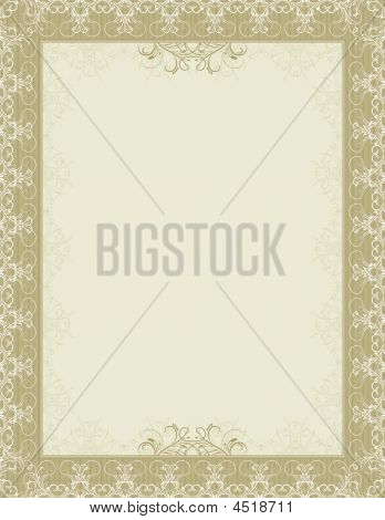 Vector Certificate Background, Vector
