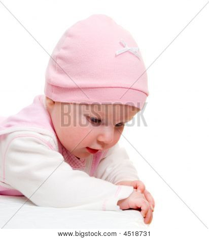Curious Child Isolated