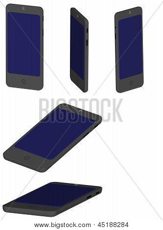 3D Render Of A Smartphone