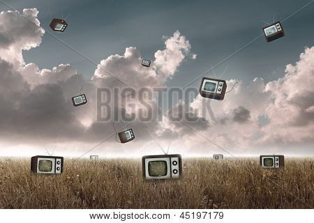 Television Falling