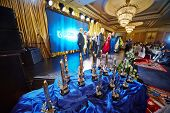MOSCOW - MAY 29: Annual ceremony of delivery of national award Financial Olympus in Hotel Ritz-Carlt
