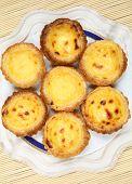 stock photo of pasteis  - Portugese pastries  - JPG