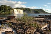 stock photo of canaima  - Canaima national park - JPG