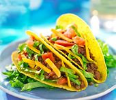 stock photo of tacos  - Mexican food  - JPG