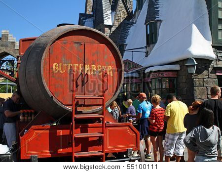 Butterbeer Wagon