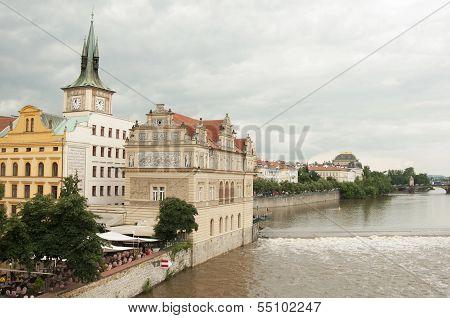 Vltava River, Prague - Czech Republic