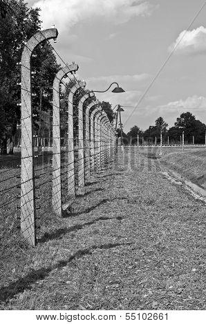 Auschwitz Birkenau Concentration Camp.