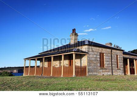 Sandstone Cottage Australia - NOT EDITORIAL
