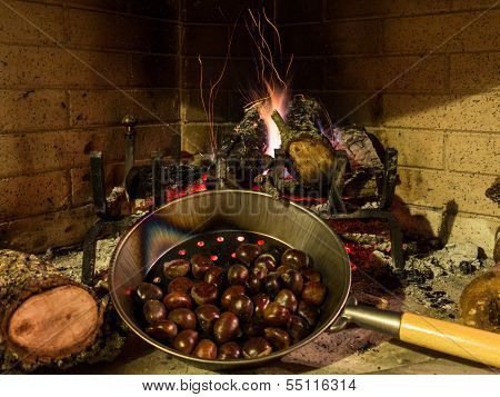 Chestnuts On An Open Fire