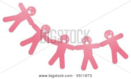 Paper People Cut Outs