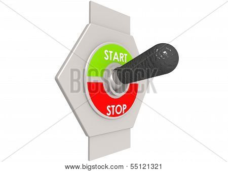 Start stop switch