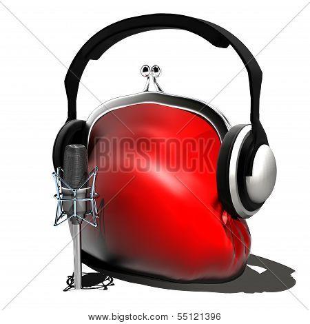 in the studio (live)