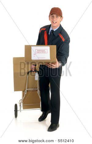 Prestação de serviços postais