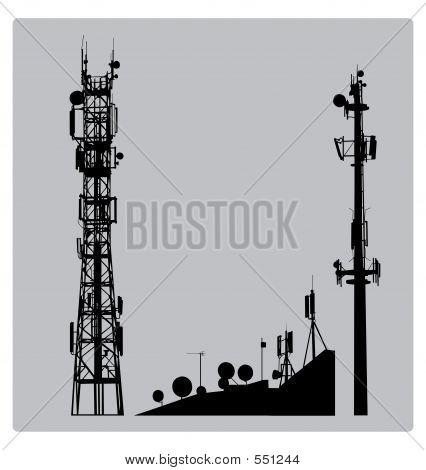 Mástil de comunicaciones