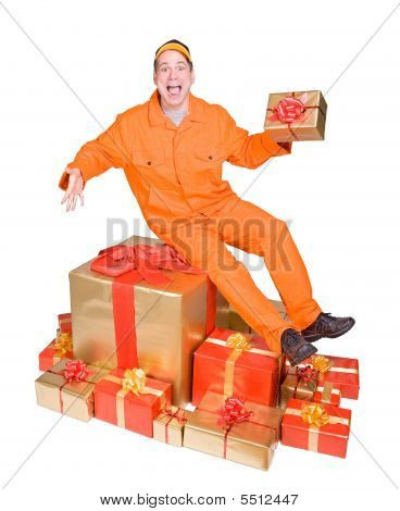 Supplier And Christmas Box
