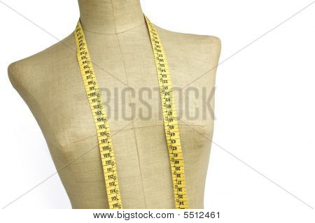 taylor mannequin with tape measure