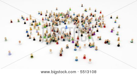 Cartoon Crowd, Individual