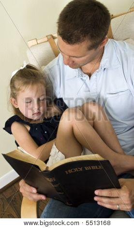 Bible Sleeping Child