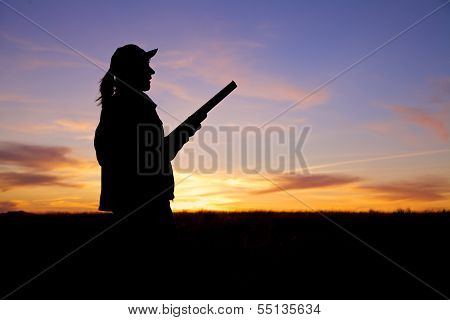 Shotgun Hunter at Sunset
