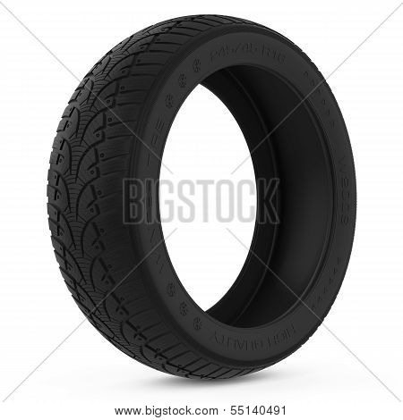 Car winter tire.